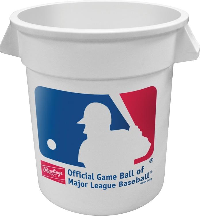 rawlings big baseball 6 pack ball bucket bigbuck6pk