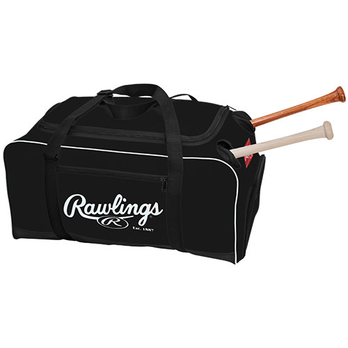 Rawlings Covert Baseball Softball Bat Duffel Bag Add