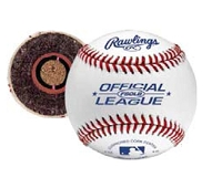 Rawlings Flat Seam Official League Leather Baseballs