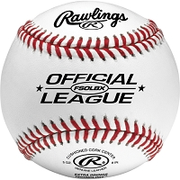 Rawlings Flat Seam Official League Practice Baseballs Dozen