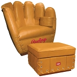 Rawlings Heart of Hide Chair Ottoman Combo