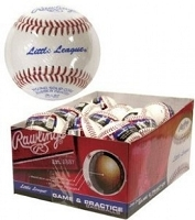 Rawlings Game and Practice Little Leauge Leather Baseballs