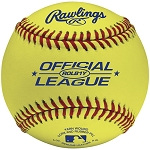 Rawlings Yellow Official League Competition Grade Baseballs