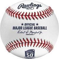 Rawlings Houston Astros 50Th Anniversary MLB Baseballs