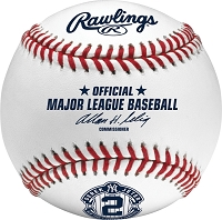 Rawlings  Derek Jeter Final Season Baseballs in Display Case