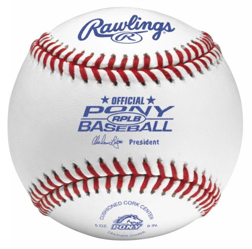 Rawlings Pony League Tournament Grade Baseballs
