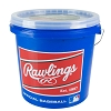 Rawlings Bucket of 24 R12U Game Baseballs