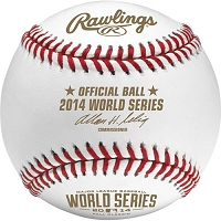 Rawlings 2014 World Series Baseballs