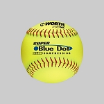 Worth 12'' Super Blue Dot Pro Tac Specialty Slowpitch Softball YS2RS