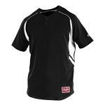 Rawlings ROAD 2-Button Short Sleeve Jersey