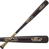 Rawlings Velo Matt Kemp Yellow Birch Wood Baseball Bat