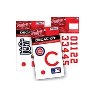 Rawlings MLB Authentic Decal Kit