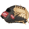 Rawlings Mens Gamer XLE 11.5 in Infield/Pitcher Black/Camel Glove