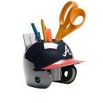 Schutt Atlanta Braves Desk Caddy Mini