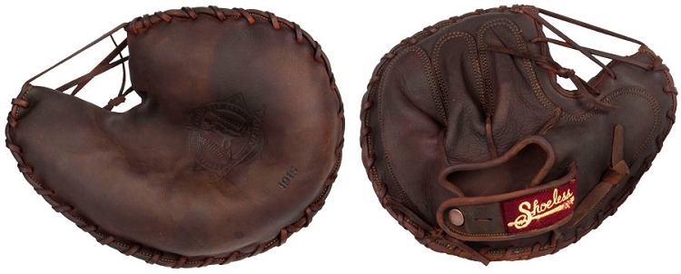 Shoeless Joe Golden Era Series 1915 Catchers Mitt