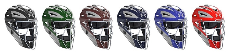 Under Armour Mens Two Tone Painted Professional Catching Mask