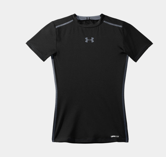 Under armour boys sonic fitted shirt for Bulk under armour shirts