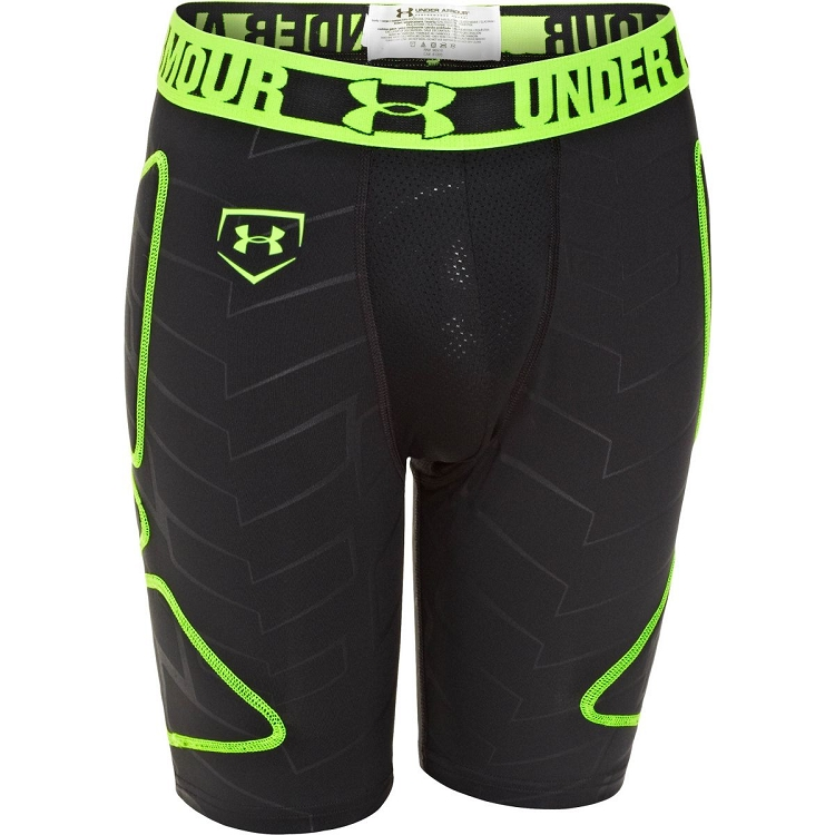 Under Armour Boys Sliding Shorts with Cup