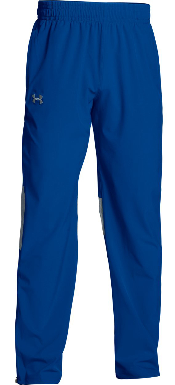 Under Armour Men's Squad Woven Warm-Up Pant - Royal Blue - Size Large