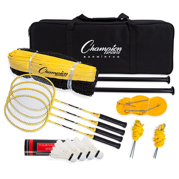 Champion Deluxe Badminton Tournament Set