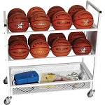 Champion Double Wide Ball Storage Cart
