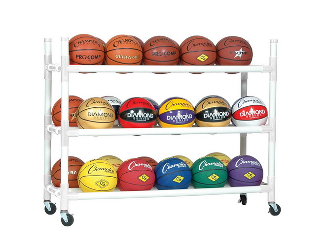 Champion Heavy Duty 30 Basketball Ball Cart