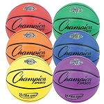 Champion BX Series Rubber Basketball BX6SET