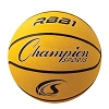 Champion Official Size Rubber Basketball Yellow