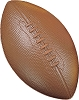 Champion Coated High Density Foam Football