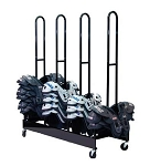 Champion Four Stack Shoulder Pad Rack