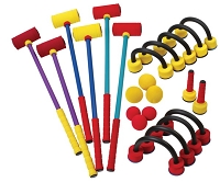 Champion Foam Croquet Set
