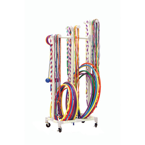 Champion Jump Rope & Hoop Cart