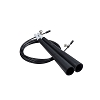 Champion Double Bearing Speed Jump Rope Black