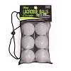Champion Nocsae Lacrosse Ball Set White