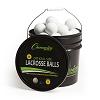 Champion Lacrosse Ball Bucket White