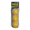 Champion Nocsae Lacrosse Ball Set of 3 Yellow