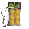 Champion Nocsae Lacrosse Ball Set Yellow