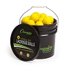 Champion Lacrosse Ball Bucket Yellow