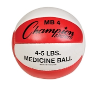 Champion Leather 4-5 lbs Medicine Ball