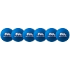 Champion 6 Inch Rhino Skin Low Bounce Dodgeball Set Neon Blue