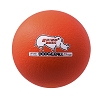 Champion 6 Inch Rhino Skin Low Bounce Dodgeball Neon Orange