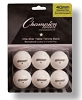 Champion 1 Star Tournament Table Tennis Ball Set of 6