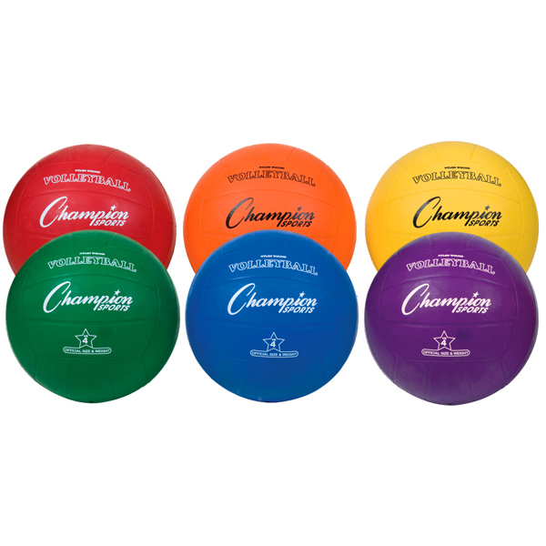 Champion Rubber Volleyball Set