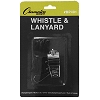 Champion Metal Whistle & Black Lanyard Pack