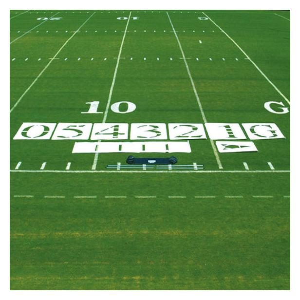 Fisher Field Stencil White One Set