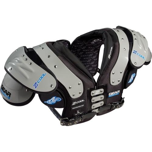 Gear Protec Adult Z Cool Qb Db Wr Football Shoulder Pad 1363455
