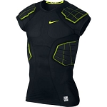 Nike Pro Combat Hyperstrong 4-Pad Top - Black - Size Large