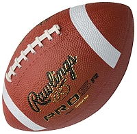 Rawlings Pee Wee Rubber Football PRO5R-PW-B