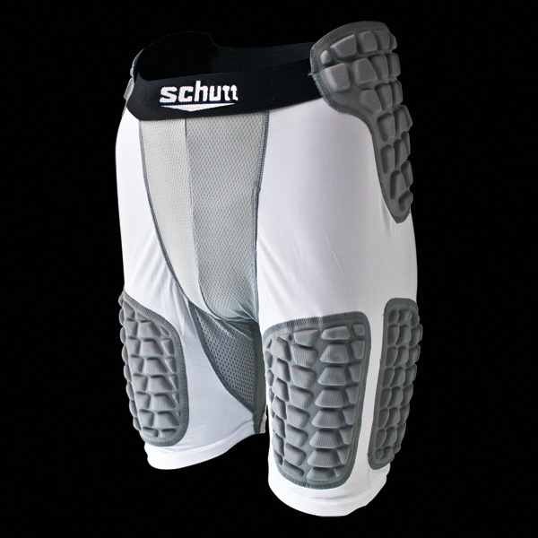 Schutt Youth ProTech Padded Compression Football Shorts