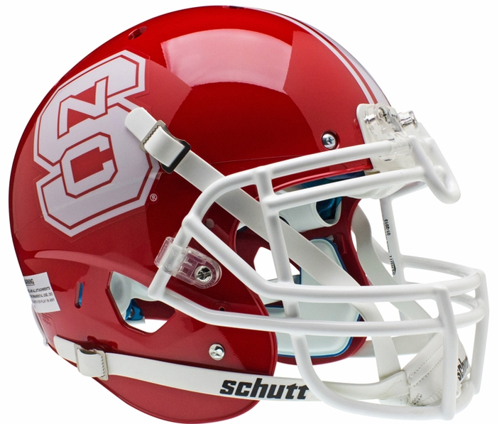 Schutt North Carolina State Wolfpack XP Authentic Alt 1